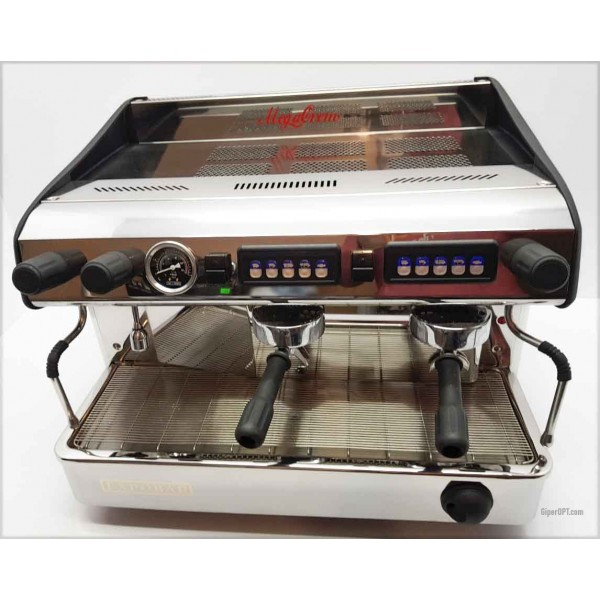 Professional coffee machine used 2 posts for a restaurant, cafe, coffee house, bar Expobar MEGACREM CONTROL 2 RED