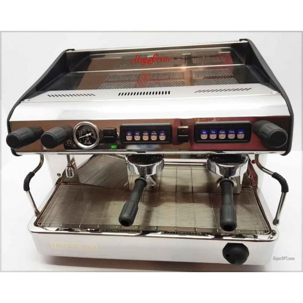 Кофемашина профессиональная б/у 2 поста для ресторана, кафе, кофейни, бара Expobar MEGACREM CONTROL 2 RED