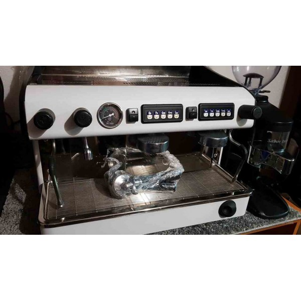 Espresso coffee machine used b_la, Idealny mill Expobar 2 items MEGACREM CONTROL 2 RED