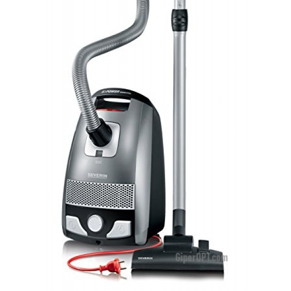 Powerful bag vacuum cleaner 6 levels of filtration Severin BC7045