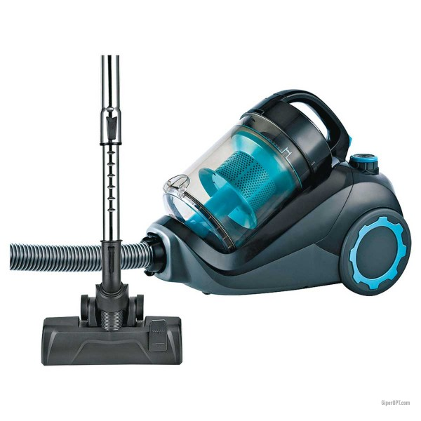 Cyclone vacuum cleaner without bag for dry cleaning HEPA filter KALORIK IW VCB 45502 RR