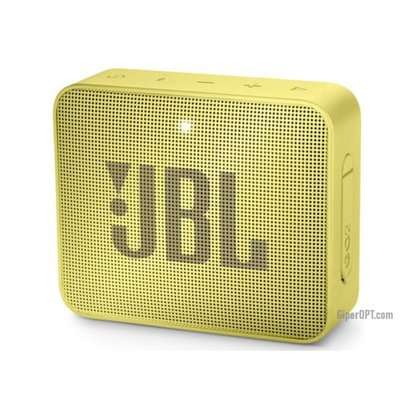 Speakers JBL Go 2 (JBLGo2YEL), yellow.