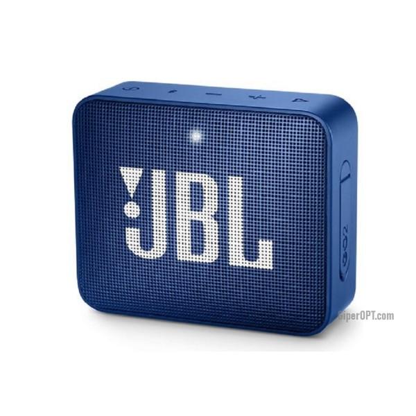 JBL Go 2 speaker system, (JBLGo2BLU) blue