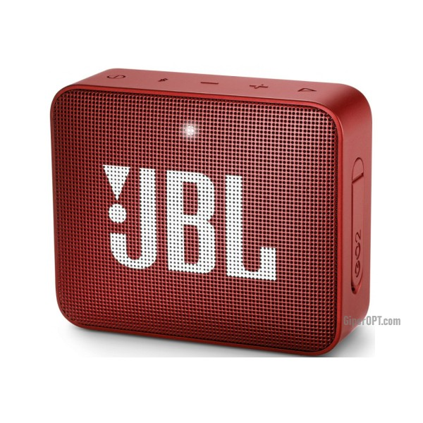 JBL Go 2 Red Portable Speaker System (JBLGo2RED)