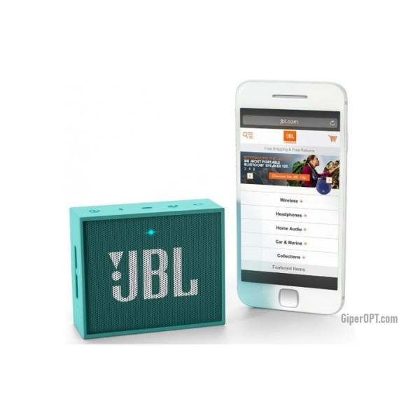 Портативная акустика, колонка Bluetooth JBL GO JBLGOTEAL Teal