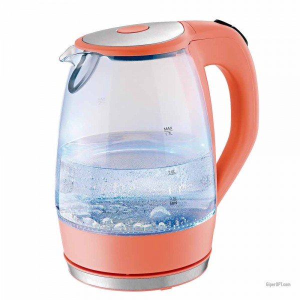 Illuminated glass electric kettle ideen welt from Germany