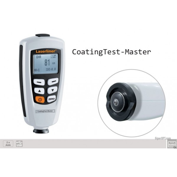 Coating Thickness Gauge / Coating Thickness Measurement Device / Layer Thickness Tester Laserliner CoatingTest-Master