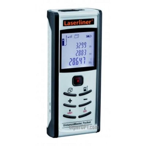 Compact laser distance to 50m LASERLINER DistanceMaster-Pocket