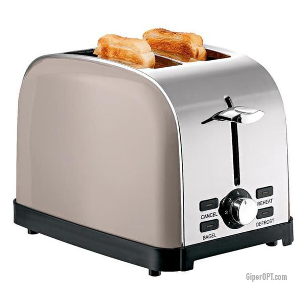 Toaster for 2 toasts, buy at a bargain price Ideenwelt TL-105A